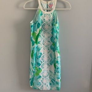 Lilly Pulitzer Pearl Shift Dress in Poolside Blue